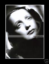 EDITH PIAF 1946-rpt Paris COSETTE HARCOURT STUDIO La Mome French Singer MATTED