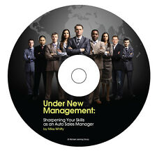 Auto Sales Training - New Car Sales Manager eBook on CD