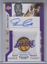 2010-11 Playoff Contenders Patches Rookie Ticket Derrick Caracter Autograph #149