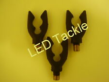 3 x Soft Rubber Gripper Butt Rests for Carp - Barbel and Pike fishing