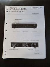 Original Service Manual Kenwood KT-3050/3050L