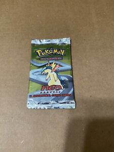 Pokemon Neo GenesisTyphlosion Booster Pack Sealed