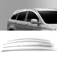 Chrome Silver Door Window Visor Garnish Molding C518 6P for HONDA 2007-2011 CR-V