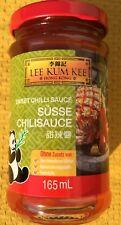 12x 165ml Lee Kum Kee Süße Chili Sauce Sweet Chili Posten Asia Spezialitäten MHD