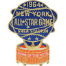 1964 MLB All Star Game In New York Mets Shea Stadium Jersey Logo Emblem Patch