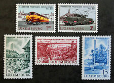 Timbre LUXEMBOURG Stamp - Yvert et Tellier 686, 687 et 688 à 690 n** (Cyn19)