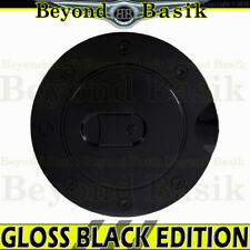 1997-2003 FORD F150 F-150 GLOSS BLACK Fuel Gas Door COVER Lip Cap Overlay Trim