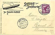 Graf Zeppelin  LZ 127  Photo Postcard. Sieger 38e The Bavarian Flight of 1920