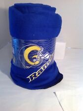 New Throw Gift Blanket Rams Football NFL