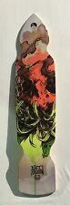 "Longboard Kicktail FREERIDE DOWNHILL skateboard 9"" x 39.25"" CRYPTO FUNSTYLE C5"