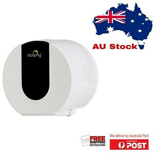 Dolphy Wall Mounted Small Toilet Paper Dispenser - Black