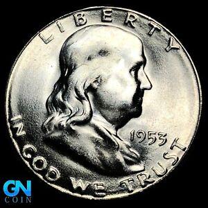 1953 S Franklin Half Dollar  --  MAKE US AN OFFER!  #K8558