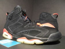 2010 NIKE AIR JORDAN VI 6 RETRO BLACK INFRARED 23 PACK WHITE RED 384664-003 10.5