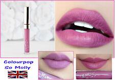 Colourpop  -Ultra Satin Liquid Lipstick - Molly - Lilac Pink - Mauve