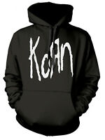 Korn 'White Logo' Pull Over Hoodie - NEW & OFFICIAL!