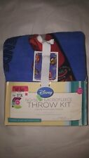 No-Sew Microfleece Throw Kit - Friends to the Finish - Create Your Own Throw