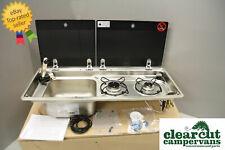 Smev 9722 L/H VW T5 Campervan Hob/Sink & Tap Combination Unit, Template