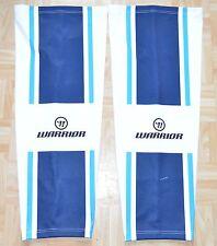 * ERC Ingolstadt Chloé Warrior game worn Socks/ajuster, Blanc, D'OCCASION *