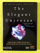 The Elegant Universe ~ 2-Disc DVD Set ~ Nova Public TV Science Physics Show