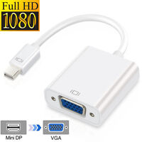 HD Mini DisplayPort to DVI Adapter For MacBook,Surface tablets,Chromebook Pixel