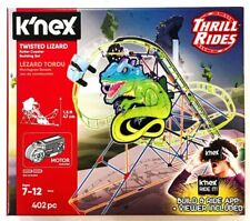K'NEX Thrill Rides Twisted Lizard Roller Coaster Building Set - 15146