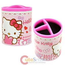 Sanrio Hello Kitty Metal Pencil Holder Organizer Can - Lot of Pink Love