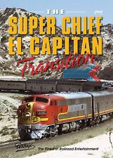 SUPER CHIEF EL CAPITAN TRANSITION LOS ANGELES CHICAGO PENTREX NEW DVD VIDEO