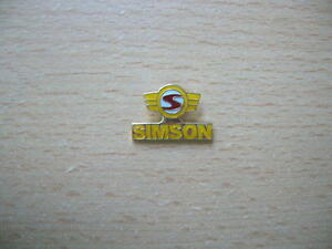 Pin Simson Abzeichen Logo Motorrad Art. 0554