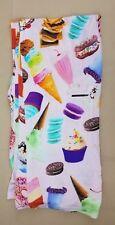 iScream Shop Candy Ice Cream Cupcake Jersey Lounge Pants Adult Lrg 11-13 NWT