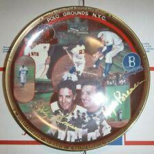 "Nyg Bobby Thomson Shot Heard 'Round World/Dodger R.Branca 8""Gold Collector Plate"