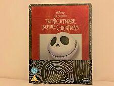 BRAND NEW Sealed DISNEY BLU-RAY/DVD Steelbook - THE NIGHTMARE BEFORE CHRISTMAS