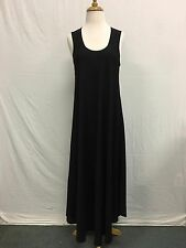 Comfy USA Crepe de Shine Flowing Long Sleeveless Dress Style CD301 Gorgeous! NEW
