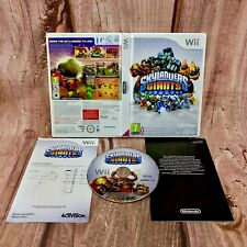Wii Skylanders Giants video computer Game Complete Wii U Video Games VGC collect