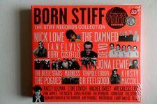 BORN STIFF the stiff records collection 2CD SEALED PUNK NEW WAVE the damned devo