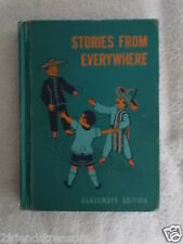 Stories From Everywhere Vintage Childrens Reading School Book Classmate Edition