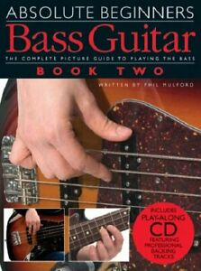 Absolute Beginners: Pt. 2: Bass Guitar Paperback Book The Cheap Fast Free Post