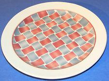assiette plate faïence Creil Montereau HBCM YVES décors géométriques