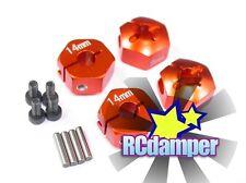 ALUMINUM 14MM x 9MM HEX DRIVE ADAPTER O 4PCS AXIAL 1/10 WRAITH SCX10 AX10 SCX-10