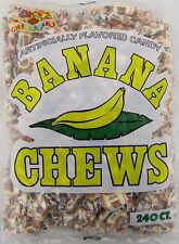 Albert's Banana Chews 240 Count Candy Bulk Taffy Candies Chew Bananas Alberts