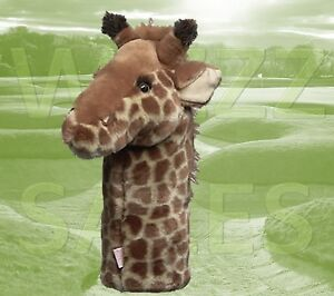 Giraffe by Daphne Large Novelty Golf Club Driver 1 Wood Headcover 460cc Head