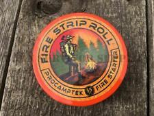 FIRE STRIP ROLL Waterproof Fire Starting Wax Tinder Puck Bushcraft Survival Kit