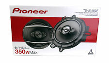 "Pioneer 350W A-Series 6.5""4-Way Coaxial Car Speakers (Pair) w/ Sensitivity 88 dB"