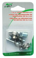 1/4 Inch Npt & Barb Size Hose Repair Kit For Compressor Pneumatic Air Lines