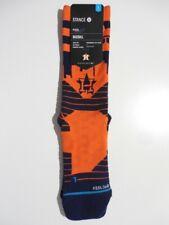 Stance MLB Houston Astros Diamond Pro Crew Socks Large New Major League Baseball
