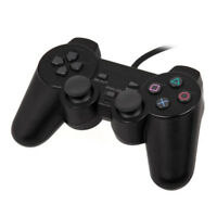 New Dual-Shock Joystick Gaming Controller for PS2 PlayStation2 Vibration Gamepad