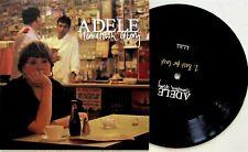 "Adele - Hometown Glory/Best for Last 7"" Vinyl NM (RARE SOLO DEBUT SINGLE 2007)"