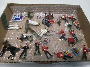 18 Assorted Britains Soldiers, Horses, and Figures