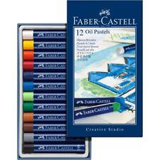 #127012 FABER CASTELL CONFEZIONE DA 12 Olio Pastello Pastelli Artisti a colori di qualità studio