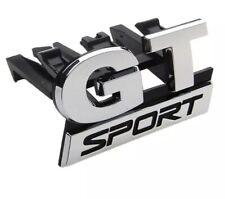 Logo GT Sport Volkswagen Emblème Calandre VW Polo Golf Passat Bora Touran Neuf