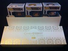 Game Of Thrones FUNKO FIGURE HBO PROMO BOX  - FUNKO -POP! xxXRARE